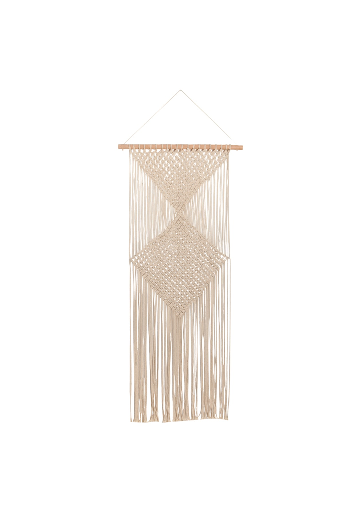 General Eclectic Macrame Wall Hanging Large The Big Homeware