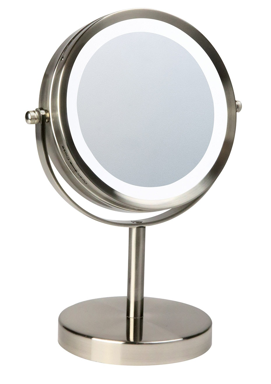 Homedics LED illuminated make up mirror - Compact (battery only)