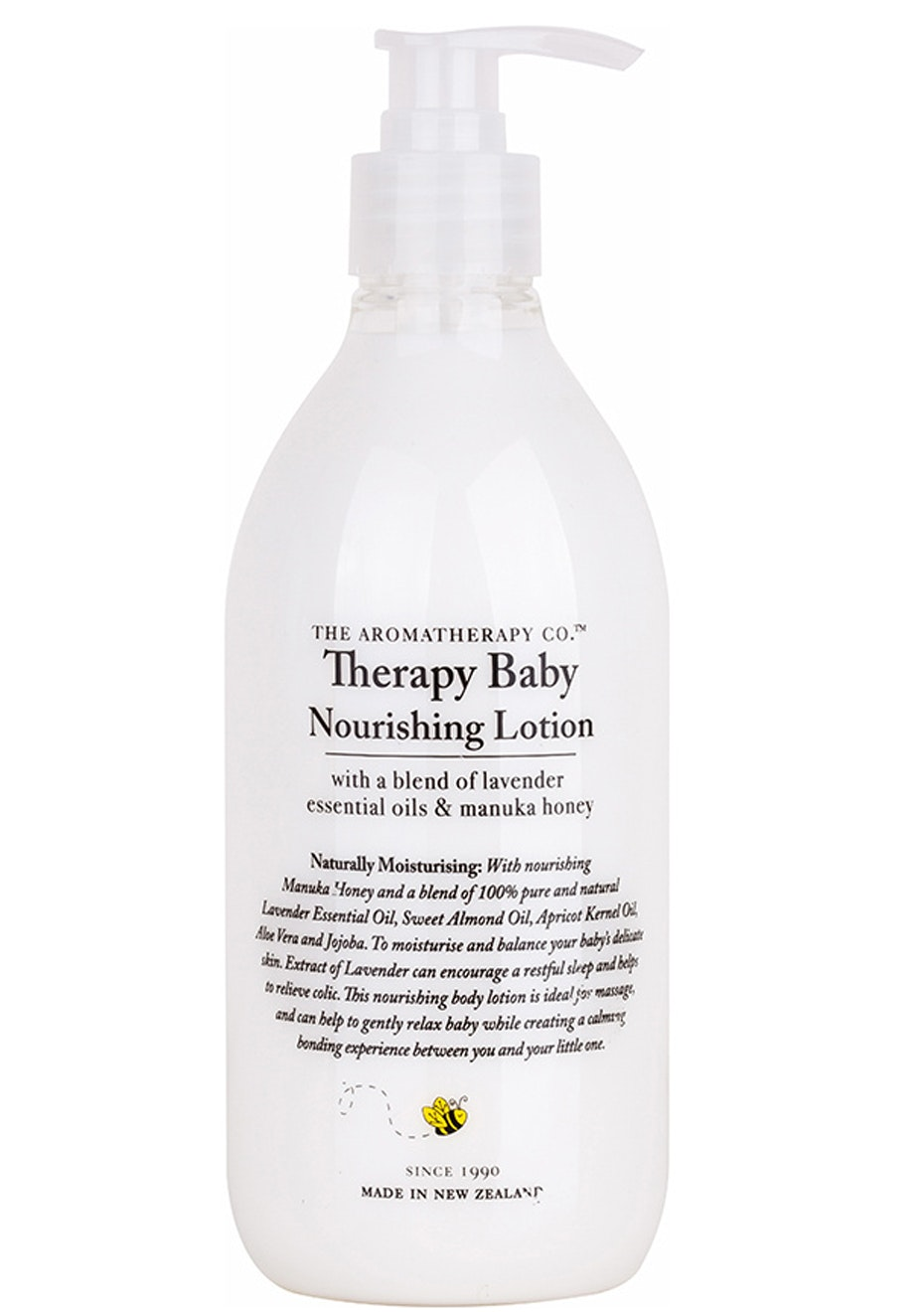 The Aromatherapy Co.  Therapy Baby Nourishing Lotion - Lavender & Essential Oils - 500ml