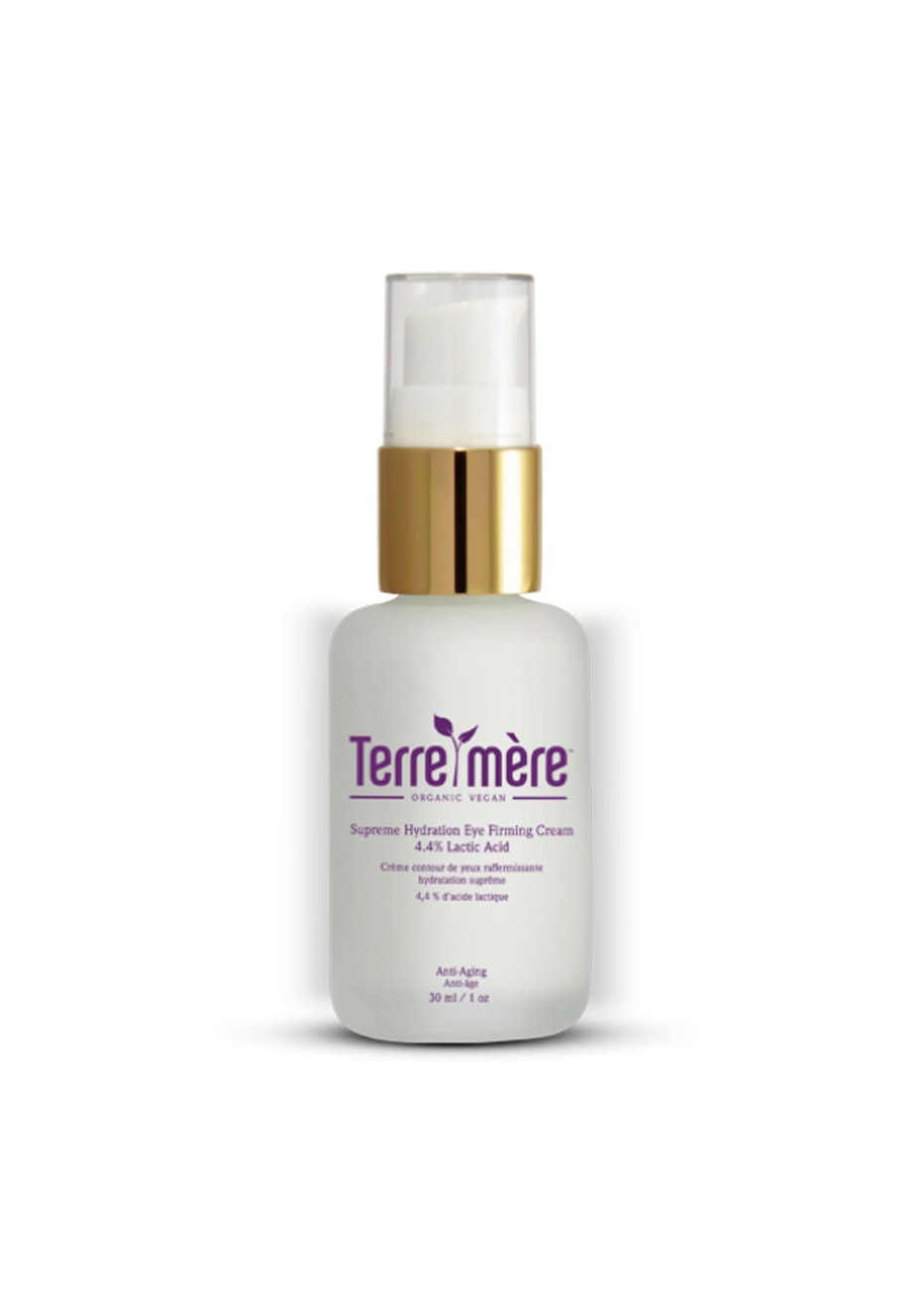 Terre Mere - Supreme Hydration Eye Firming Cream - 4.4% Lactic Acid