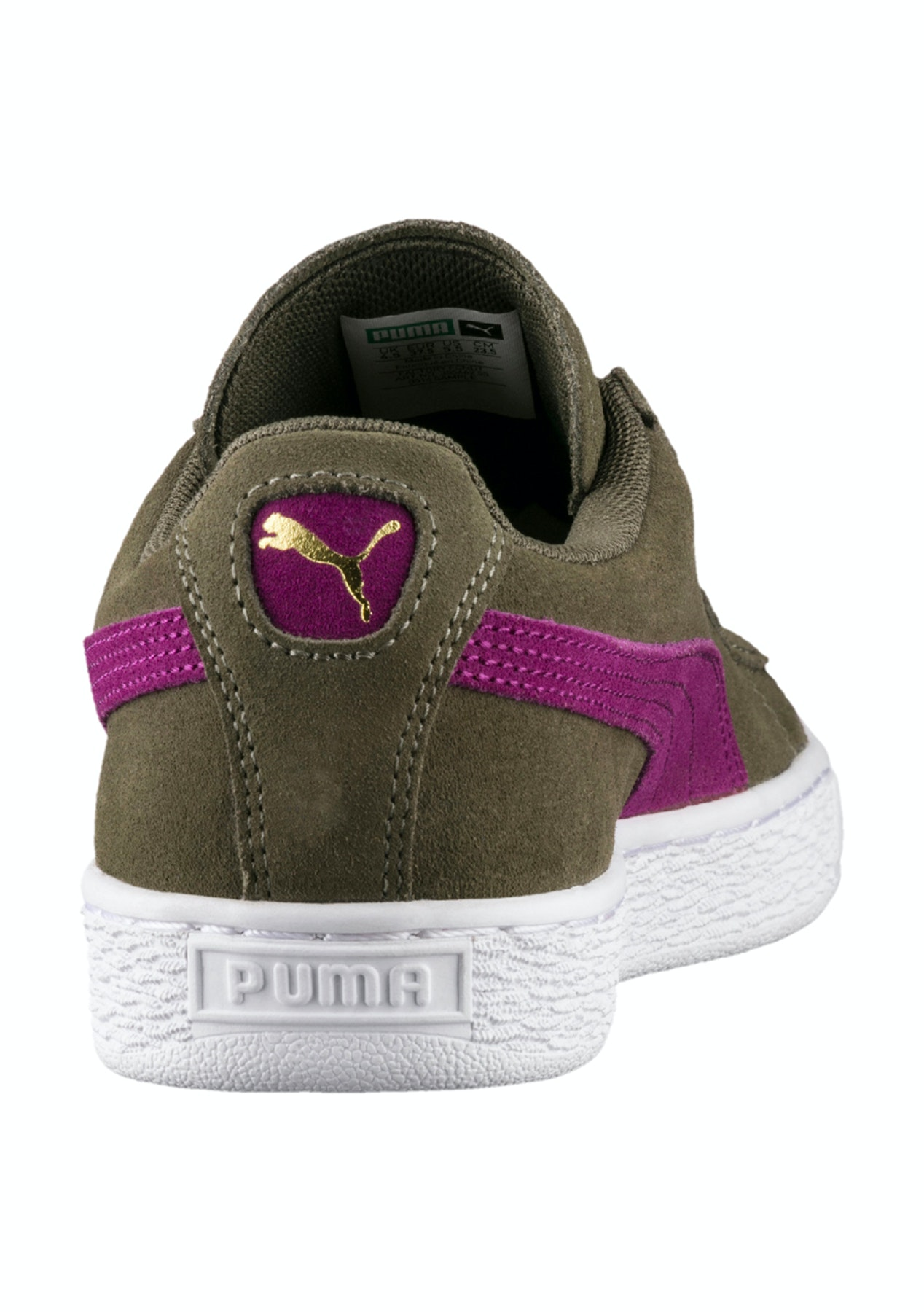 17f34c21de5 Puma Womens - Suede Classic - Olive Night - Free Shipping Street Shoes +  Slides - Onceit
