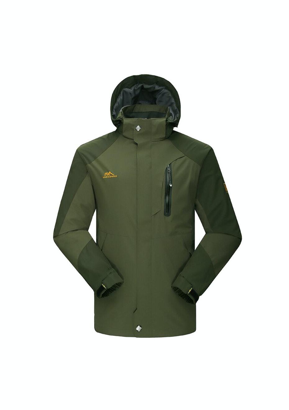 Men 2-in-1 WaterProof Jackets - Tan