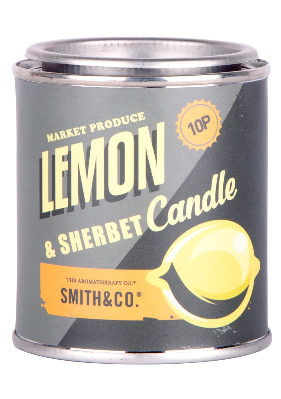 The Aromatherapy Co. Lemon Sherbet Vintage Tin Candle -  - 180g