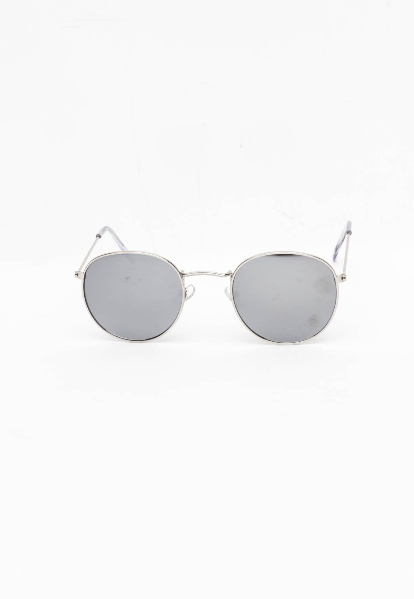 Retro Round - Silver Frame/ Silver