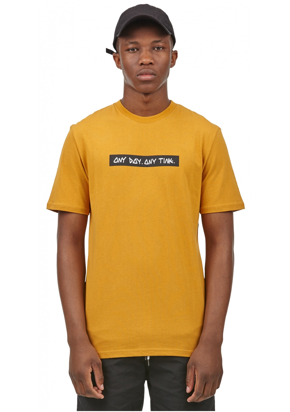 I Love Ugly - Any Day Tee - Yellow