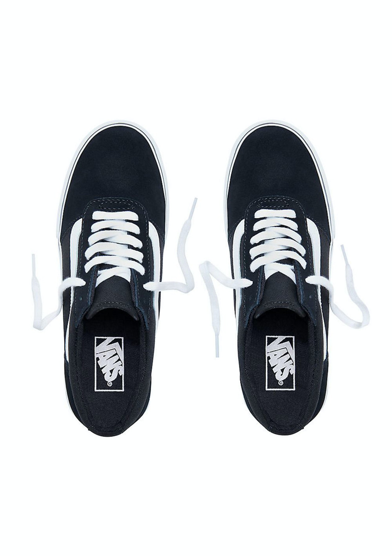 b687d0c9c317b9 Vans - Womens Maddie - Canvas - Black White - Vans for The Family - Onceit