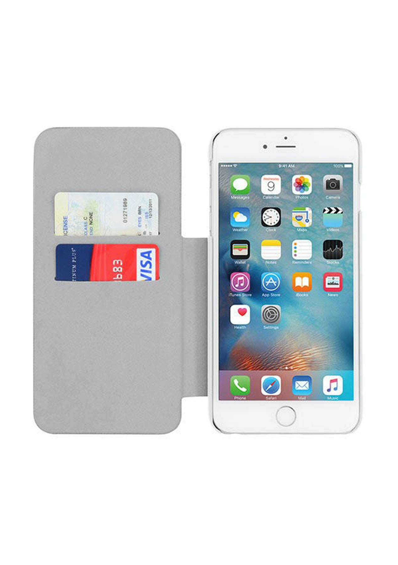 newest a41bd 15fe8 Incipio Highland for iPhone 6 Plus / 6s Plus - White/Gray
