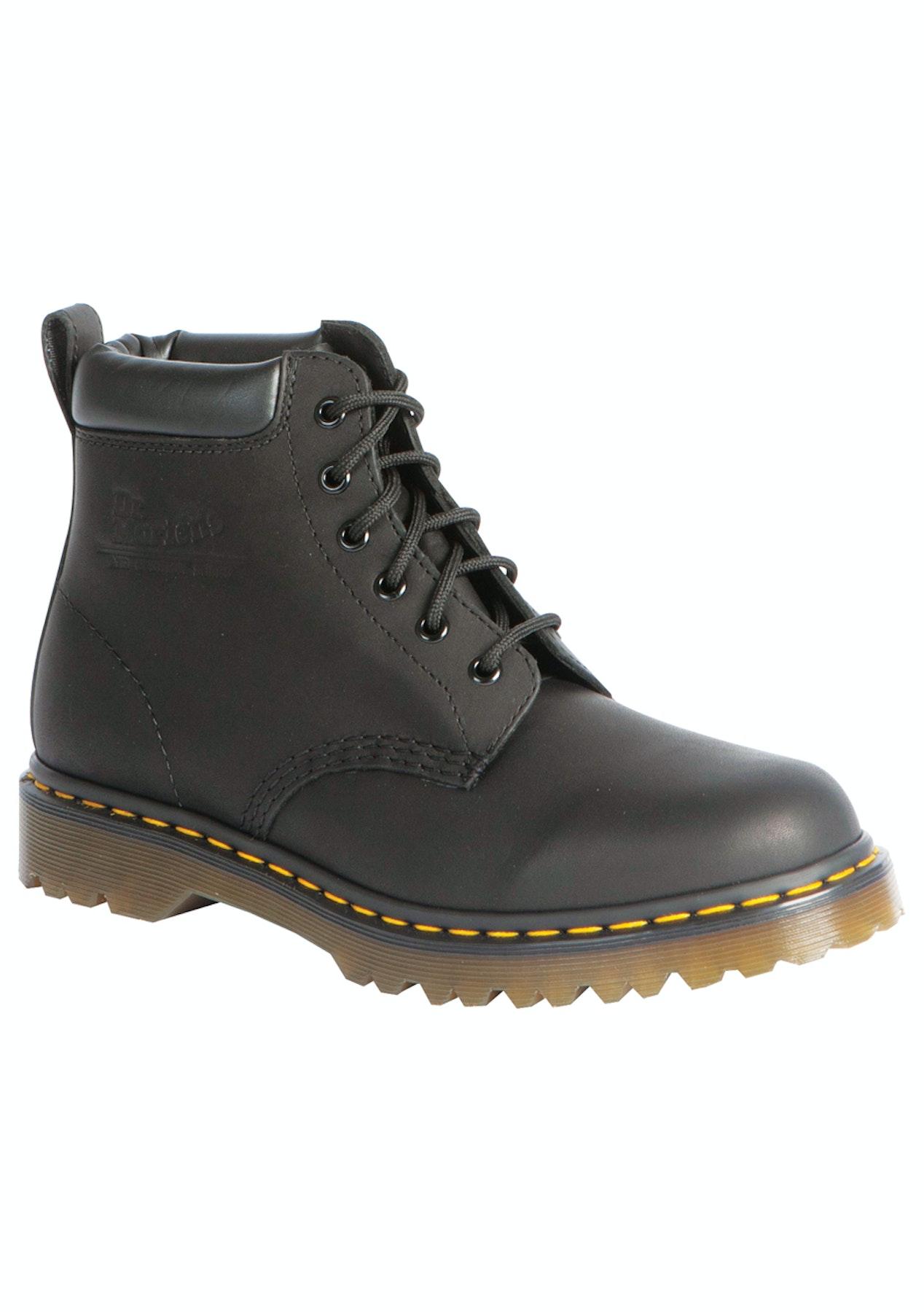 62a4fdbf9c Dr Martens - 939 Ben 6 Eye Boot - Black Greasy