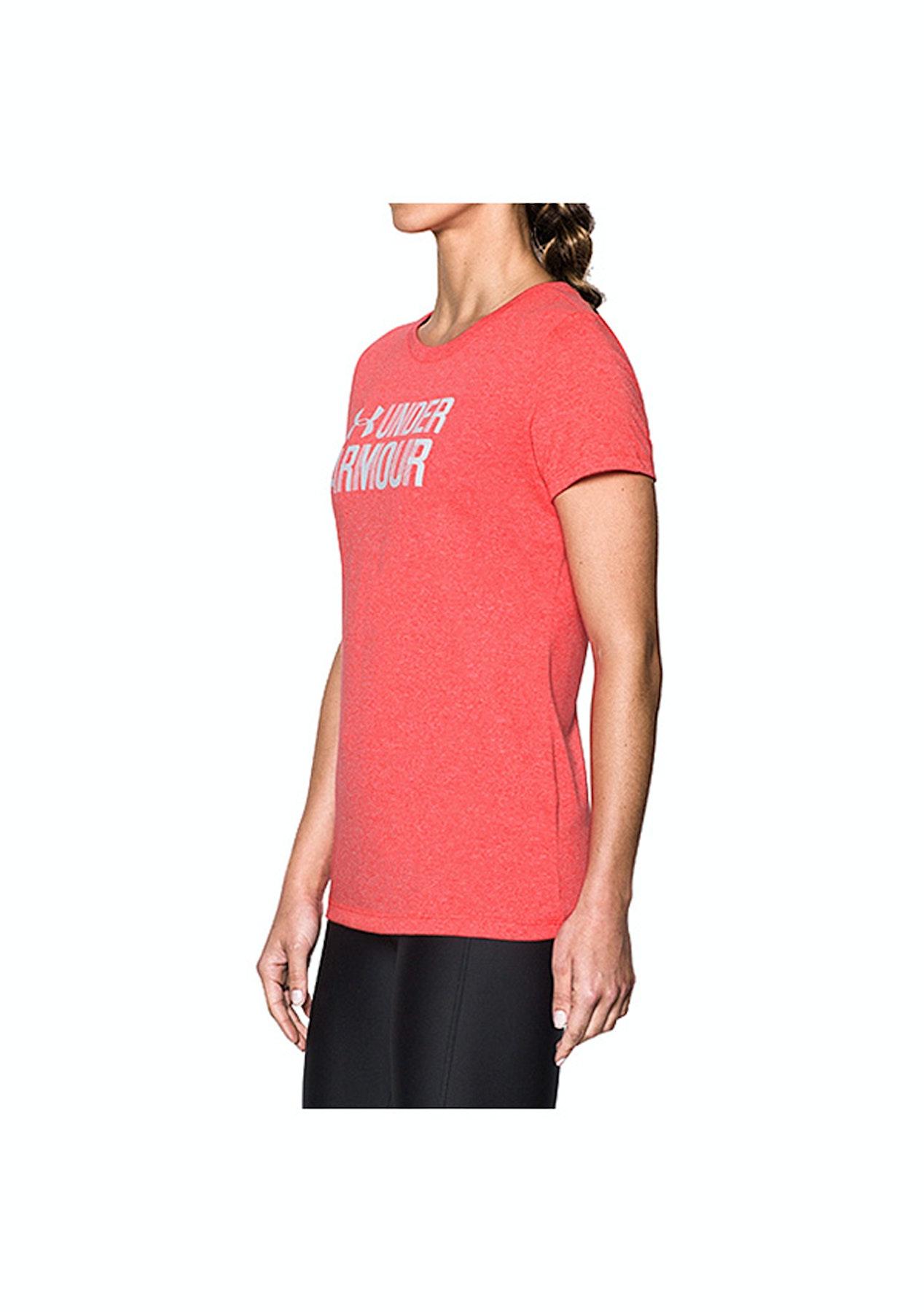506270ae3c936 Under Armour - Threadborne Ssc Twist Graph - Marathon Red  White - Once a  Year Under Armour Womens - Onceit