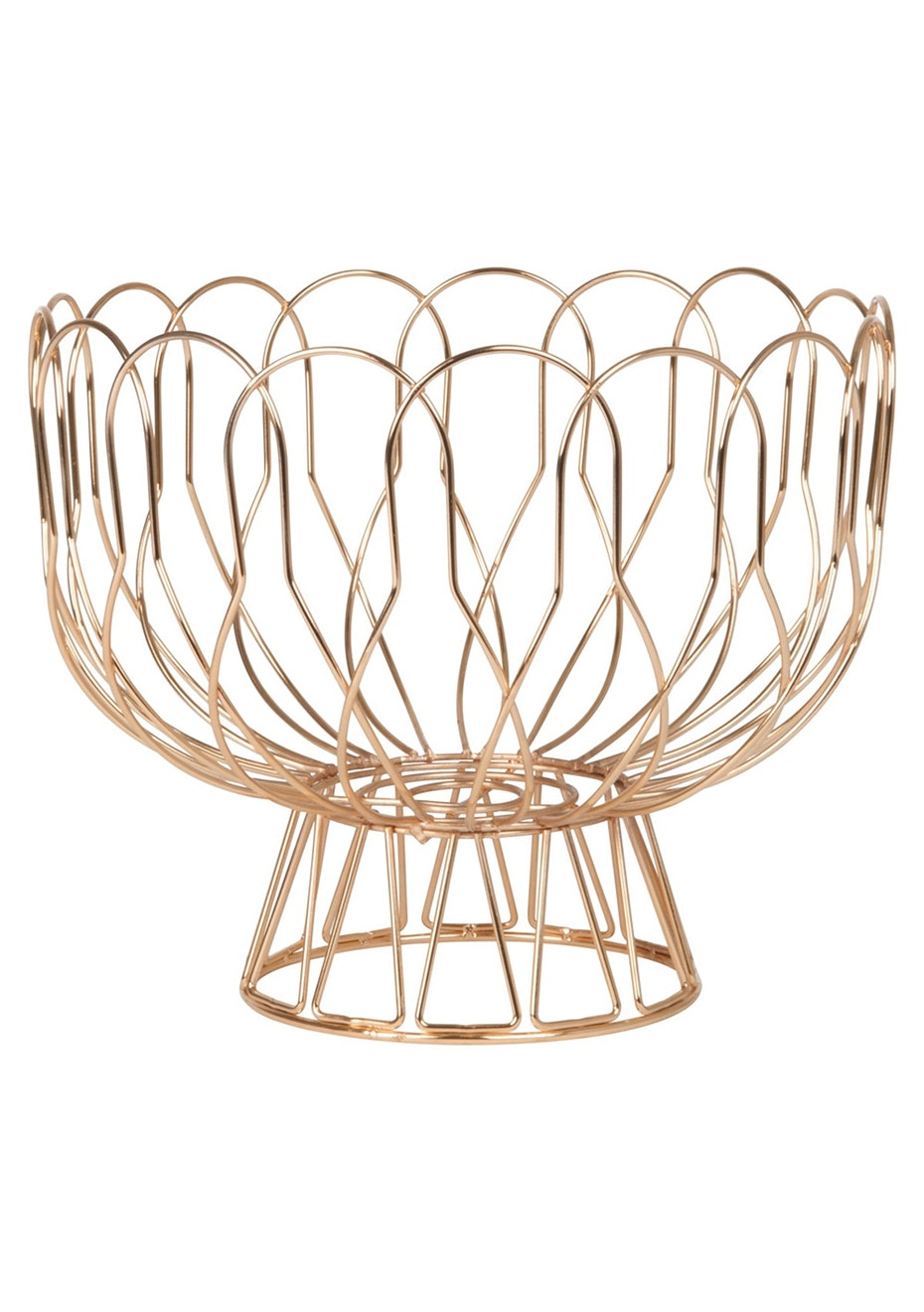 Pt Home - Fruit bowl Wired - Copper