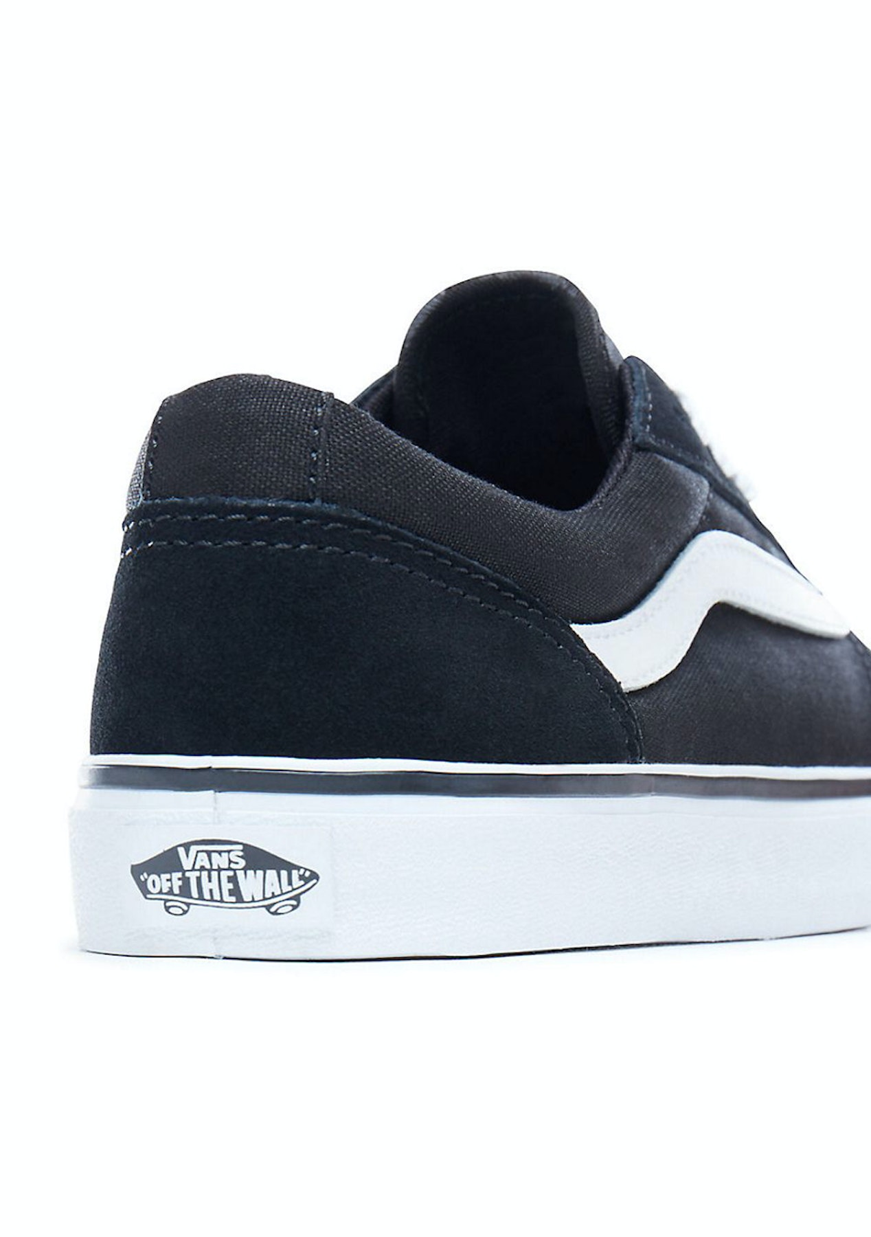 9caa85da0628 Vans - Womens Maddie - Canvas - Black White - Vans for The Family - Onceit