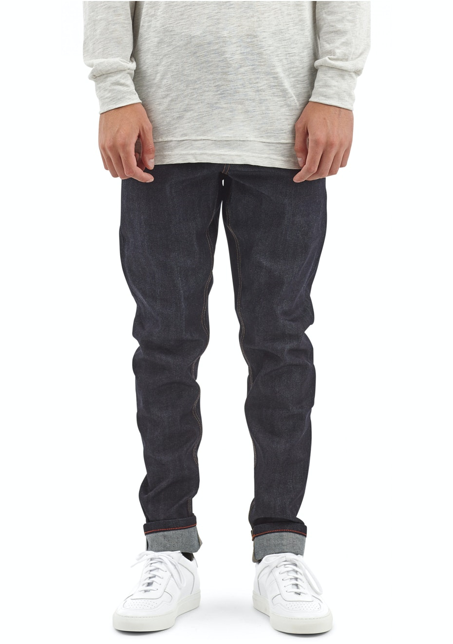 I Love Ugly - Slim Leg Denim - Raw Denim