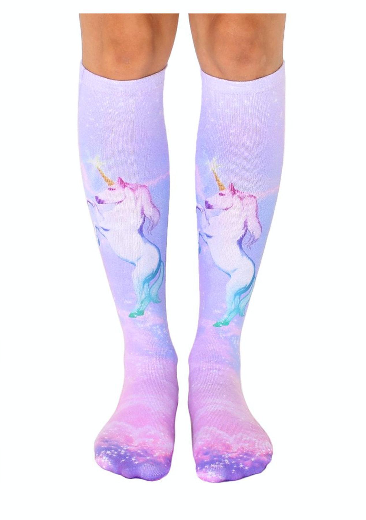 3fe21785fa2 Living Royal Socks - Unicorn Dreams Knee High Socks - The Big Kids Christmas  Gift Sale - Onceit