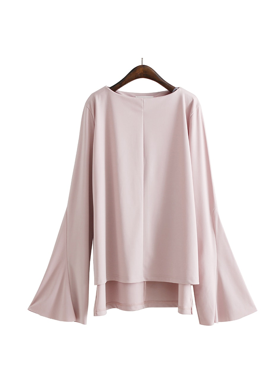 Lolita Flared Sleeve Top - Soft Pink