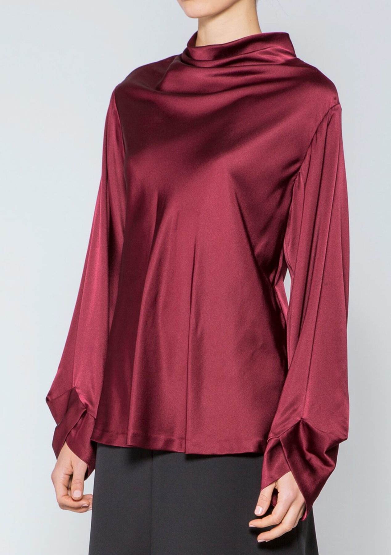 06255e5f64c26 Acler - Maddern Silk Blouse - Plum - Acler - Onceit