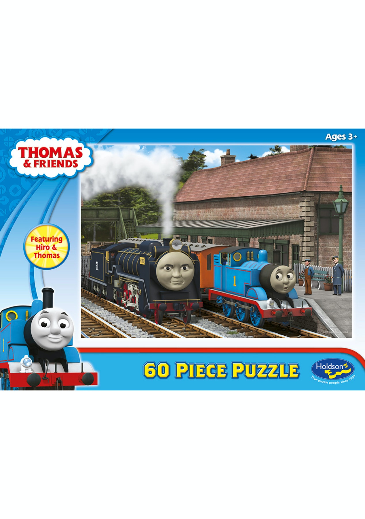 Thomas 60 Piece Jigsaw Puzzle Hiro & Thomas