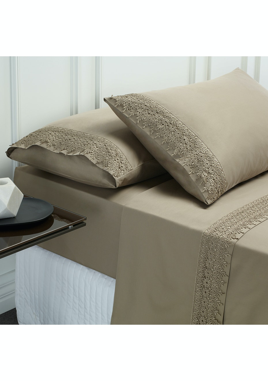 Style & Co 1000 Thread count Egyptian Cotton Hotel Collection Valencia Sheet sets Mega Queen Linen