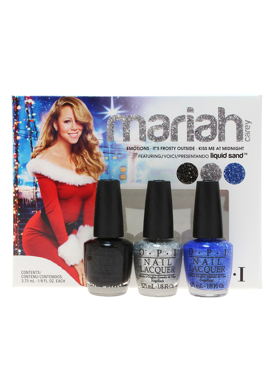 OPI-#HLE31 Mini Set - Mariah Carey Trio #2