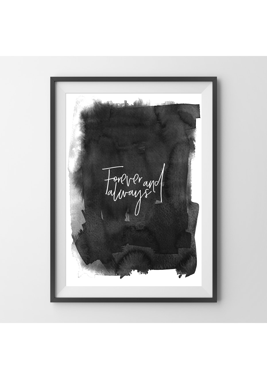 Simply Creative - Forever And Always  - A3 Colour Print