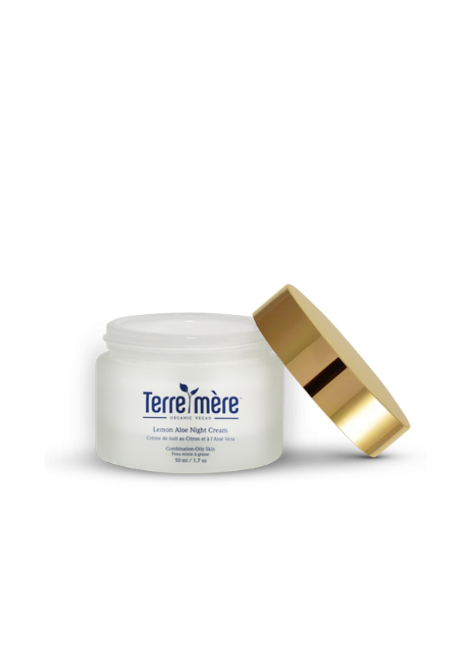 Terre Mere - Lemon Aloe Night Cream - Combination-Oily Skin