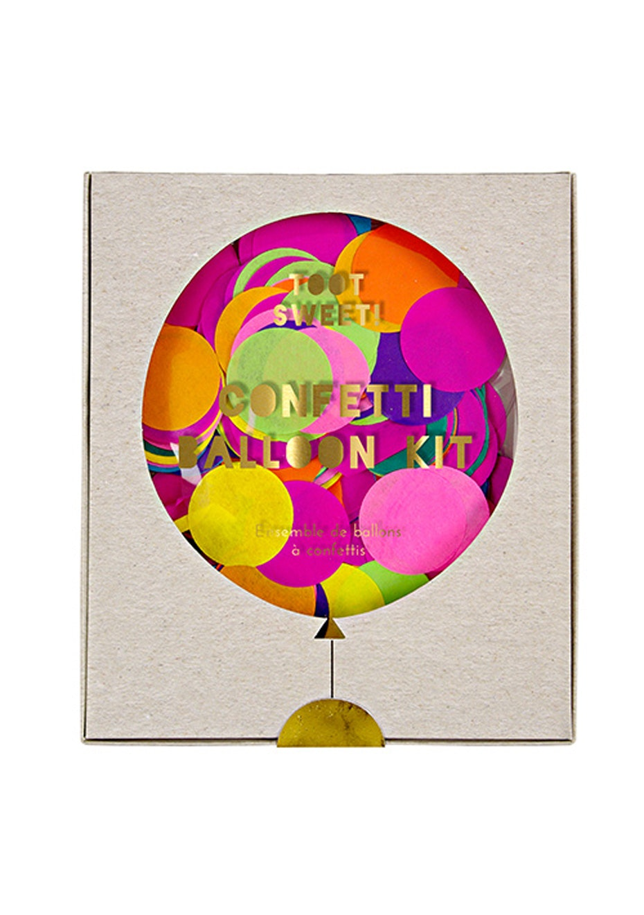 Meri Meri - Confetti Balloon Kit Bright Set of 8