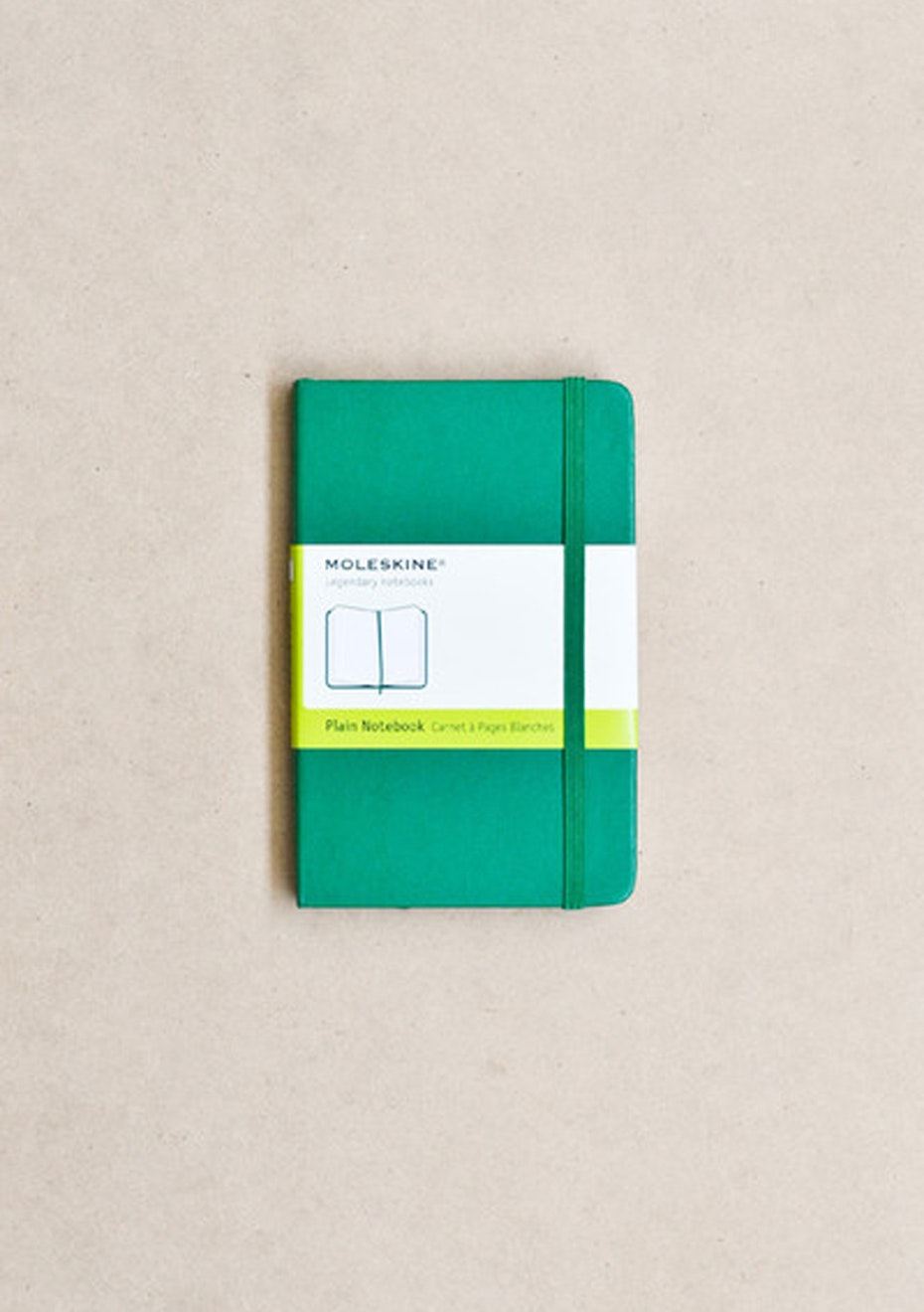 Classic Hard Cover Notebook - Plain
