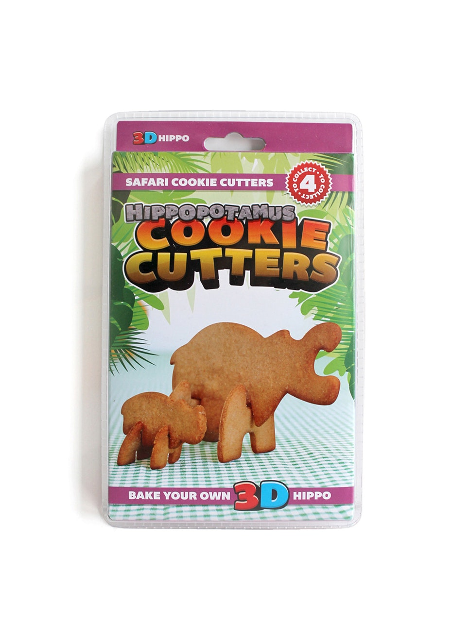 Suck UK - Cookie Cutter Wholesale Pack - Hippo