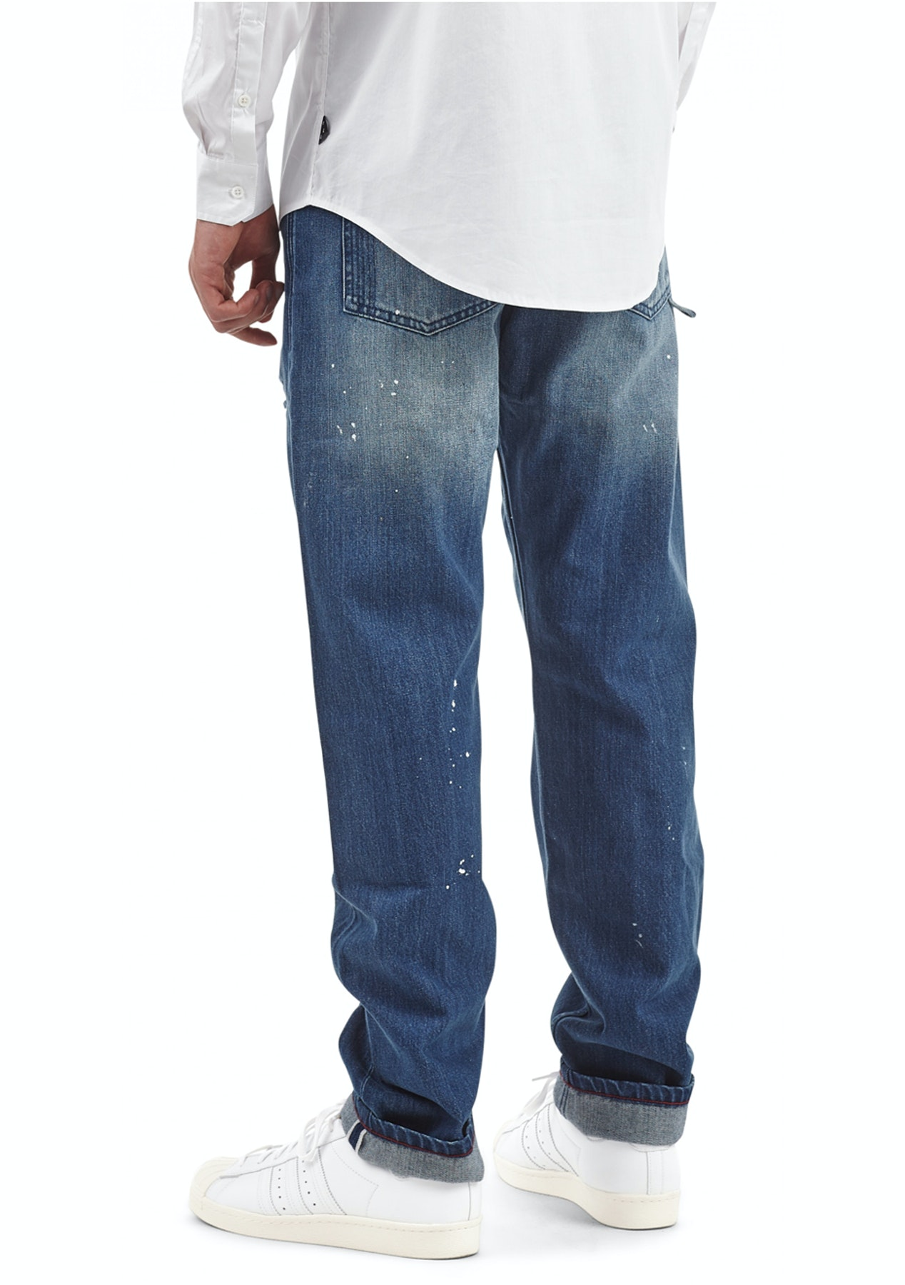 ee39d09f I Love Ugly - Straight Leg Denim - Blue Wash - Mens Mixer - Onceit