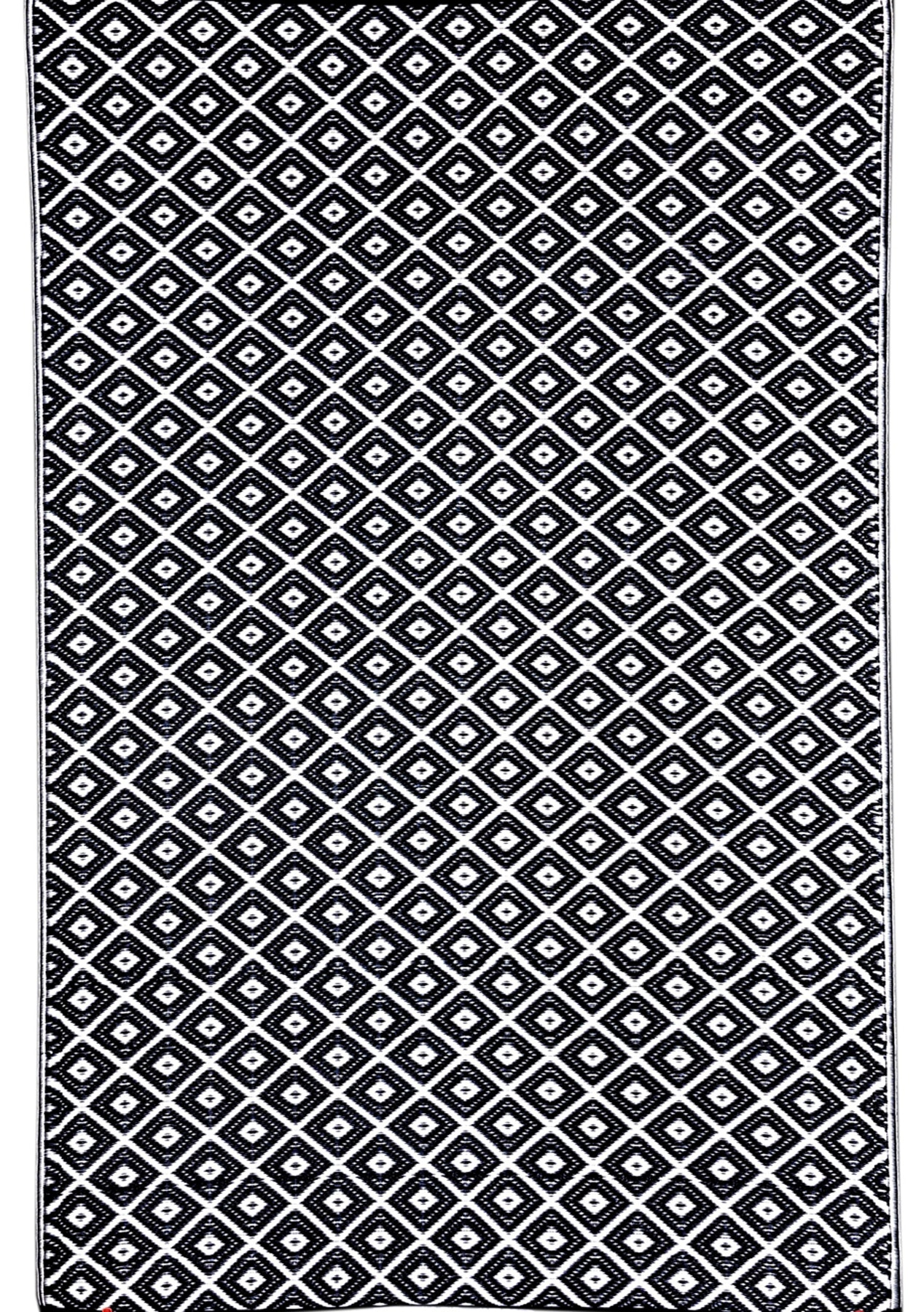 Fab Habitat Kimberely Black Recycled Polypropylene Indoor Outdoor Rug 90 X 179cm Modern Jute Rugs Onceit