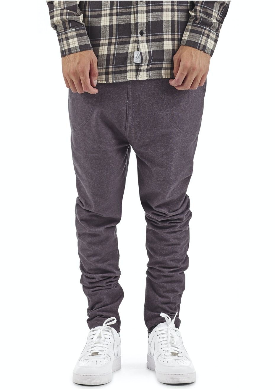 I Love Ugly - Zespy Fleece Pant - Aged Black