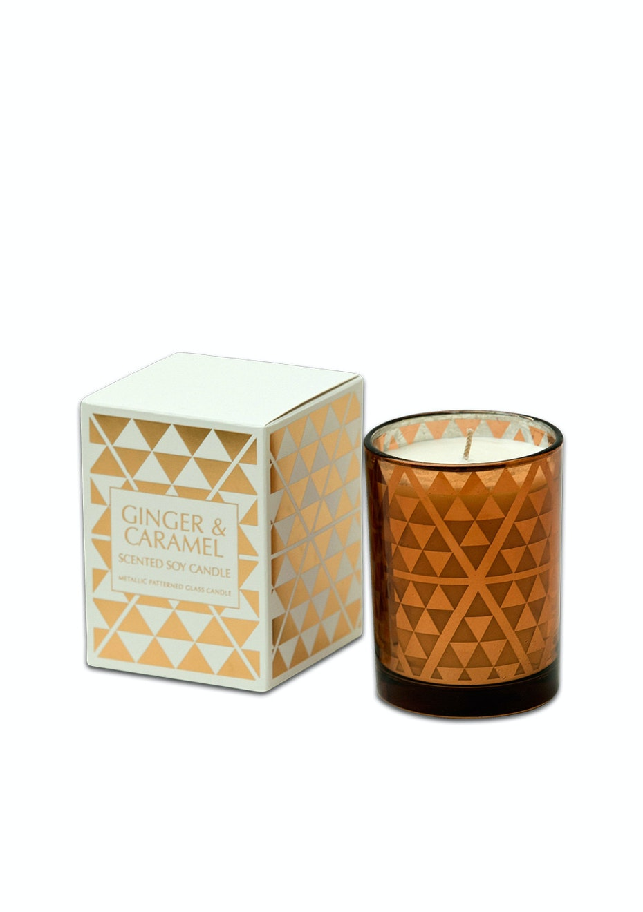 Me & My Trend - Ginger/Caramel Geo Candle