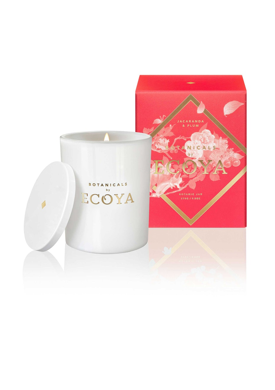 Ecoya - Botanic Jar - Jacaranda & Plum