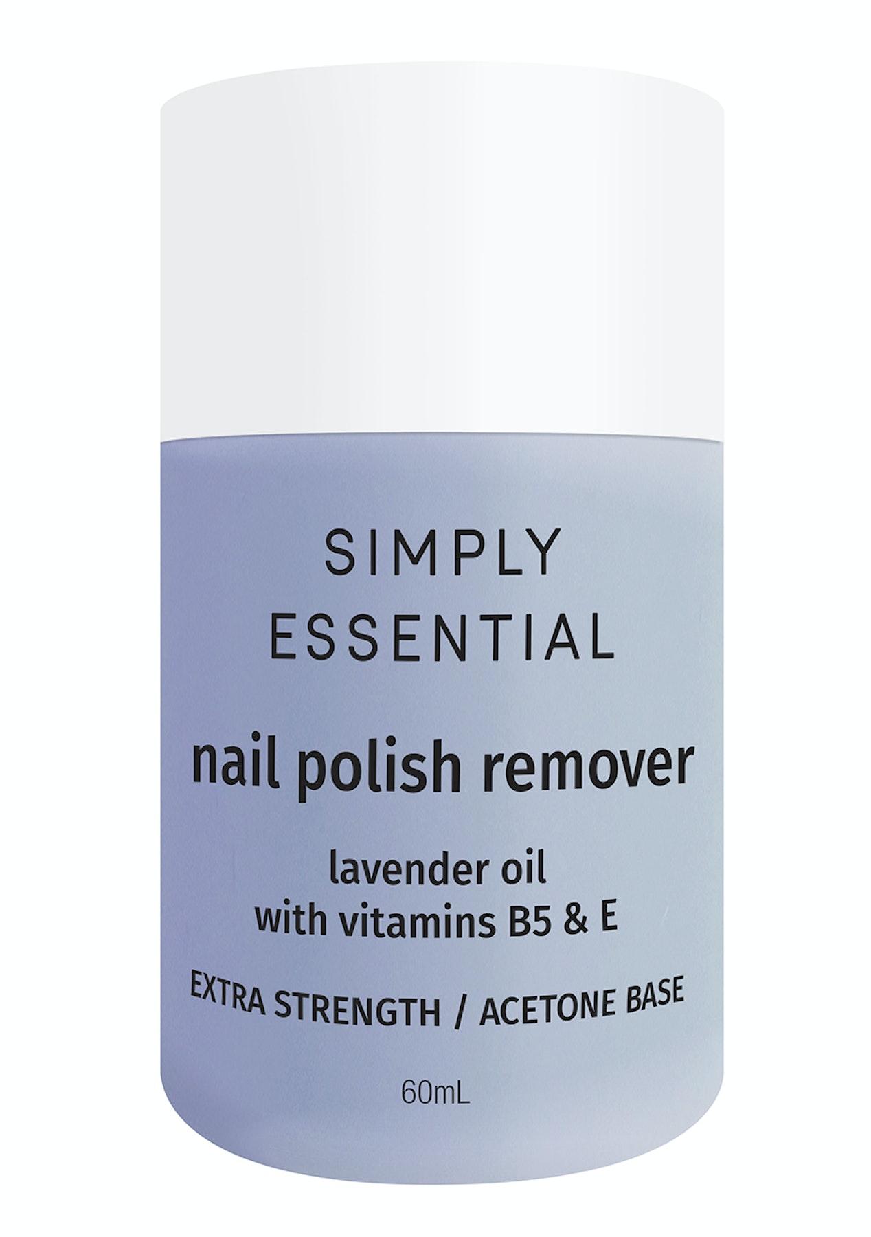 Simply Essentials - Nail Polish Remover - Blue Extra Strength (Acetone) 60ml