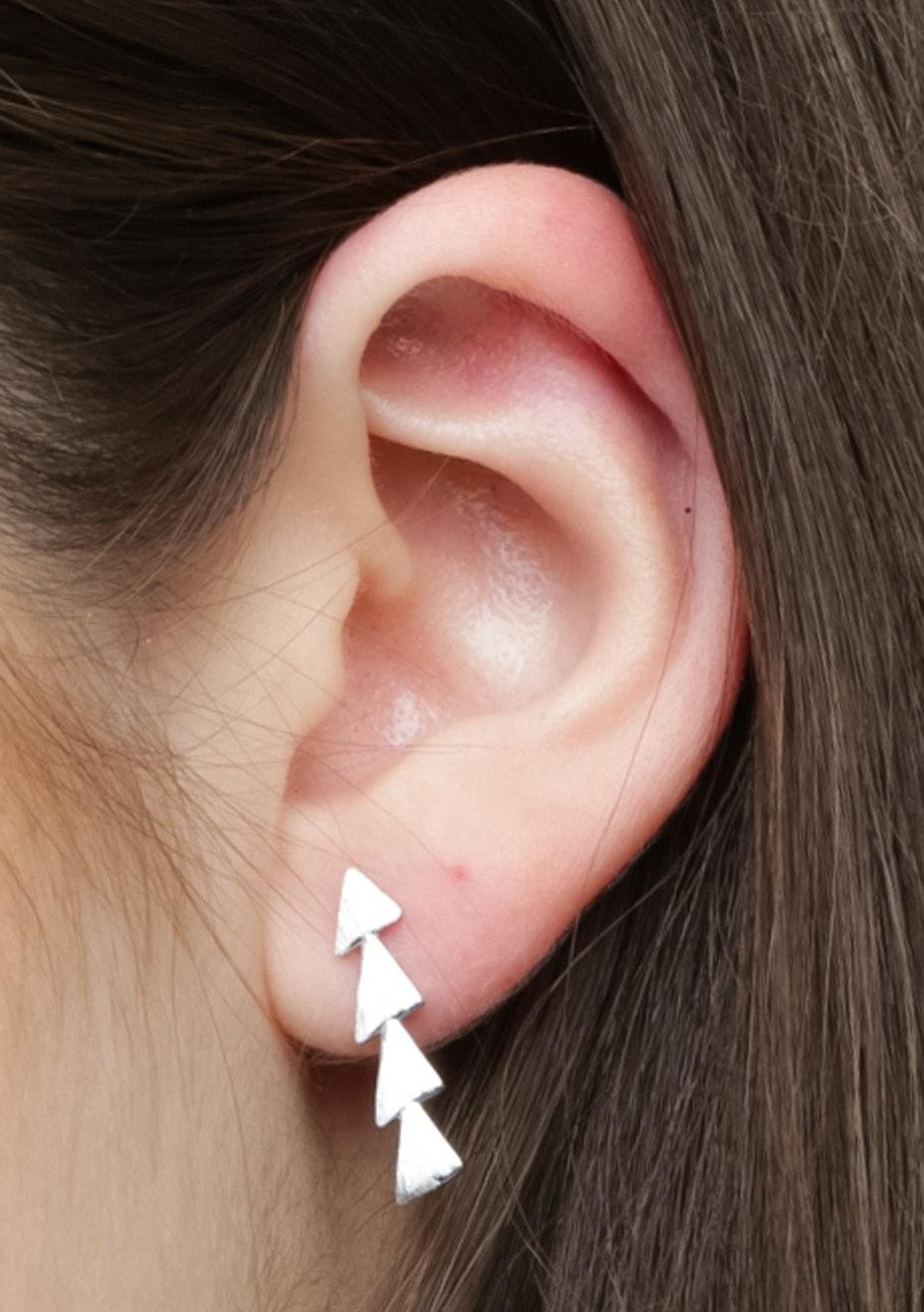 Triangle Ear Cuff - 925 Silver