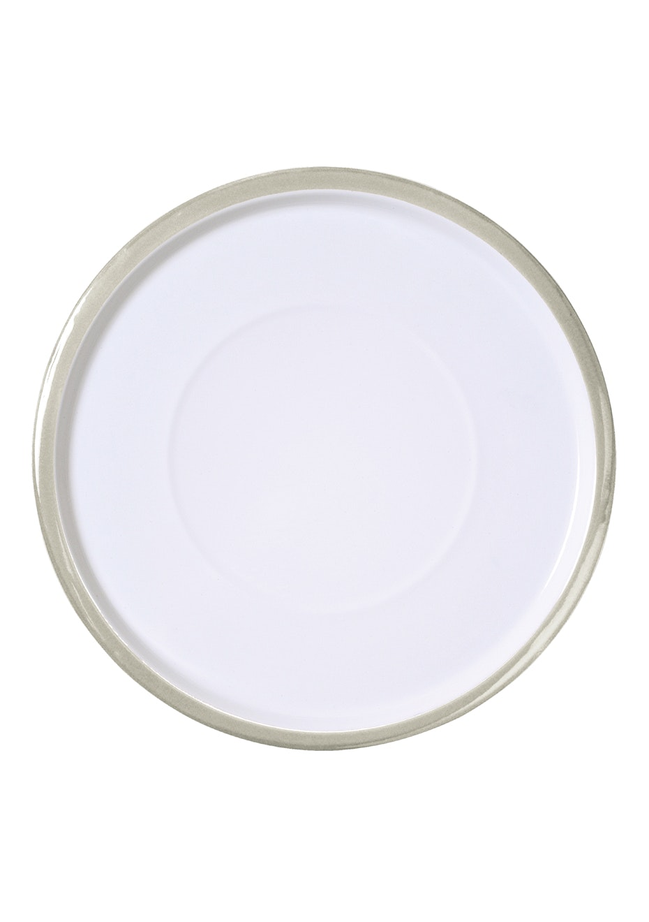 Città - Variopinte Enamel Large Plate Sand 31cmdia