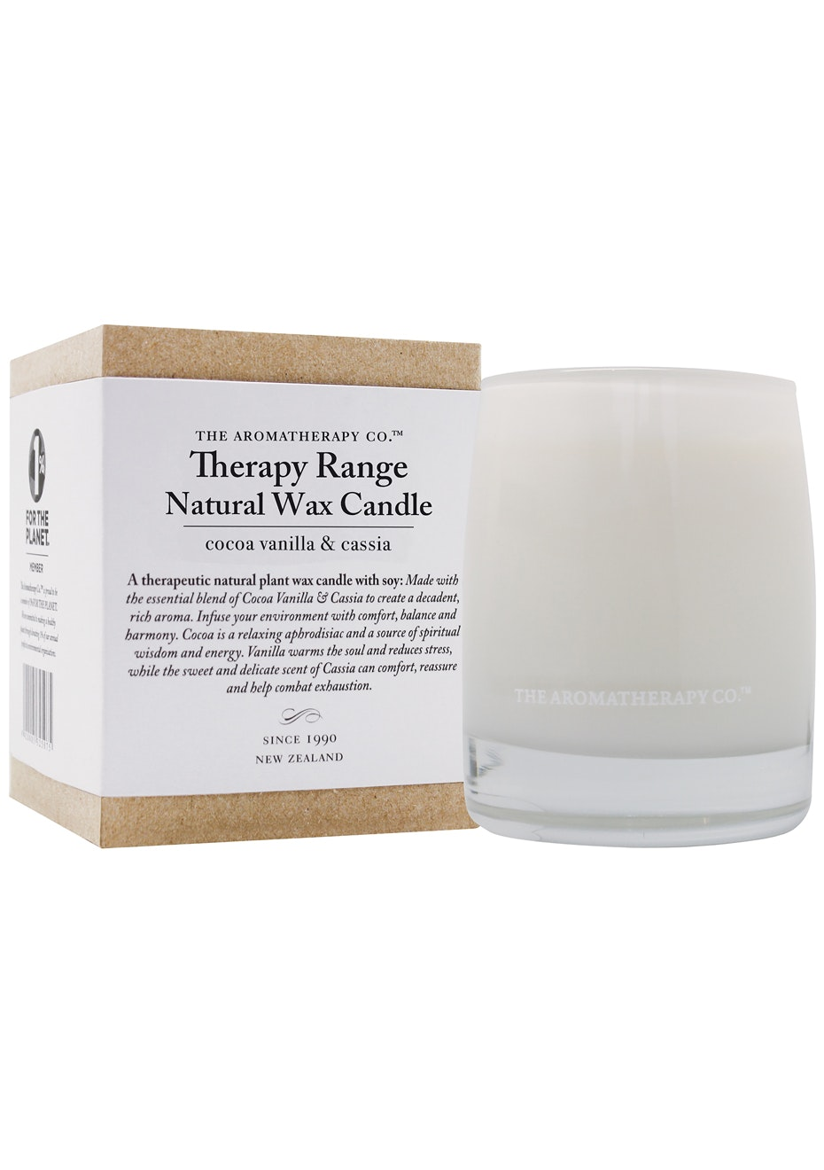 The Aromatherapy Co. Therapy Candle - Cocoa Vanilla & Cassia