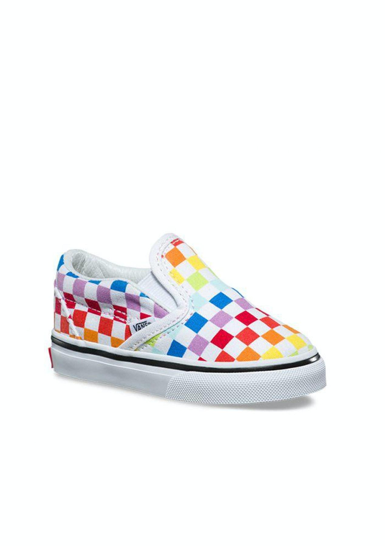 5e0be4cc9 Vans - Toddler Cso (Checkb) - Rainbow/Wht - Vans - Onceit