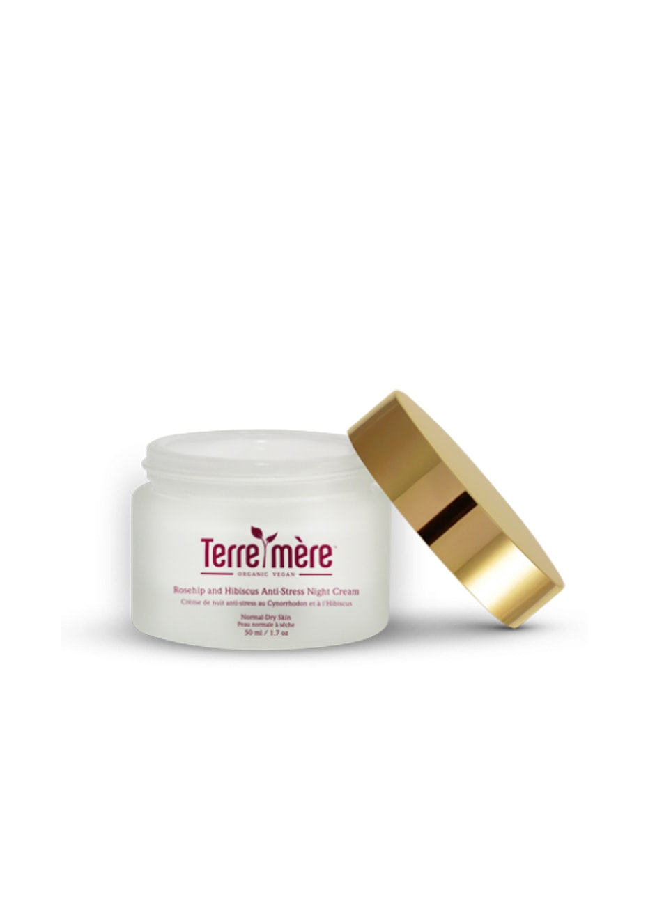 Terre Mere - Rosehip and Hibiscus Anti-Stress Night Cream  - Normal-Dry Skin