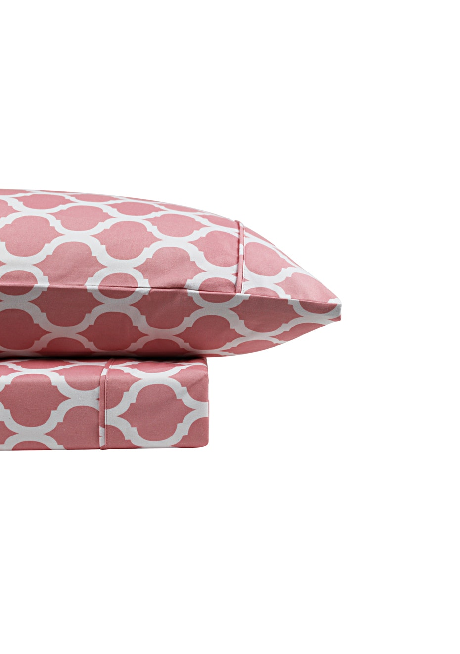 Thermal Flannel Sheet Sets - Morocco Design - Blossom - Double Bed