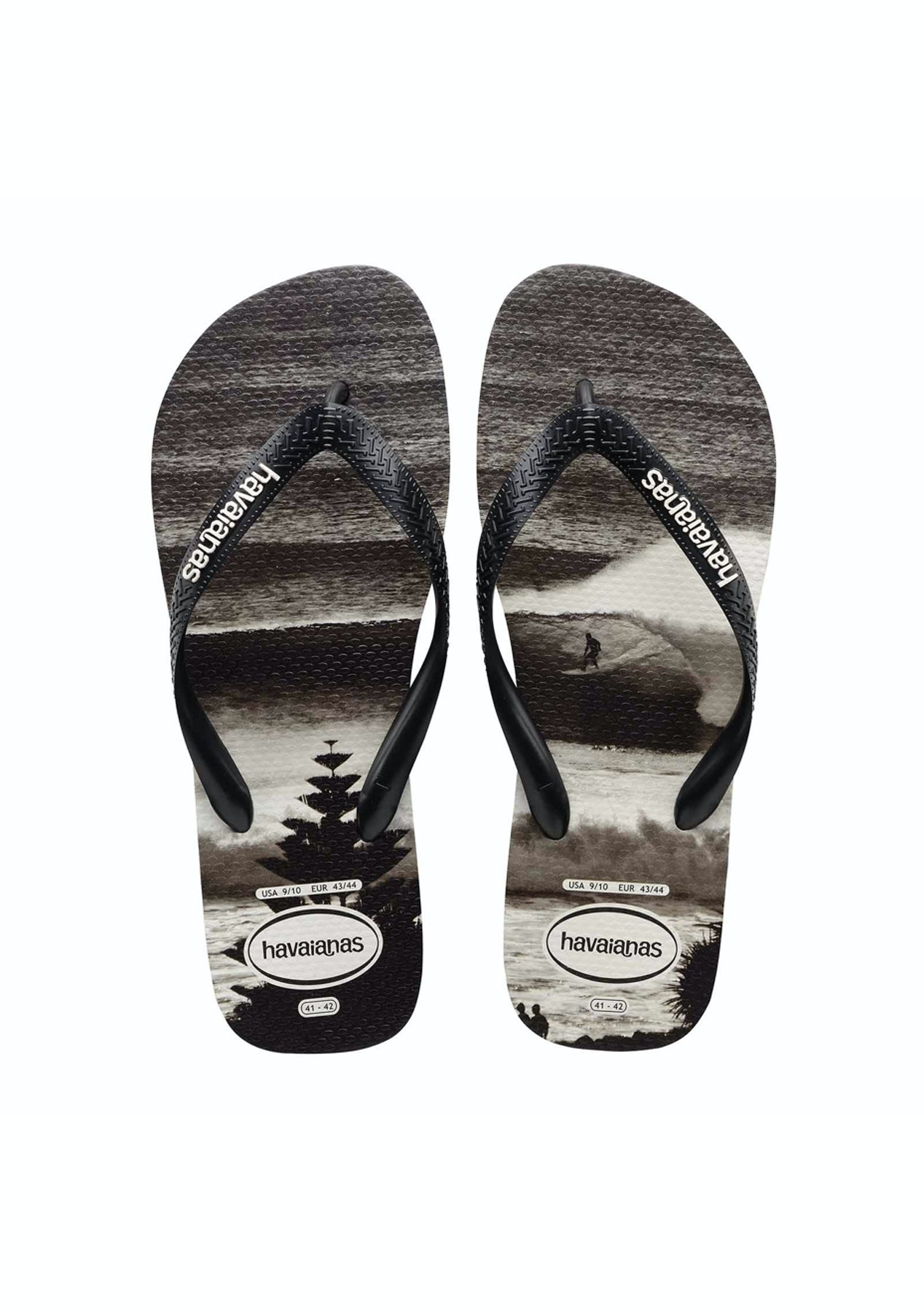 f7abe2b78 Havaianas - Top Photoprint 1069 - Black White - Havaianas for the Family  from  10 - Onceit