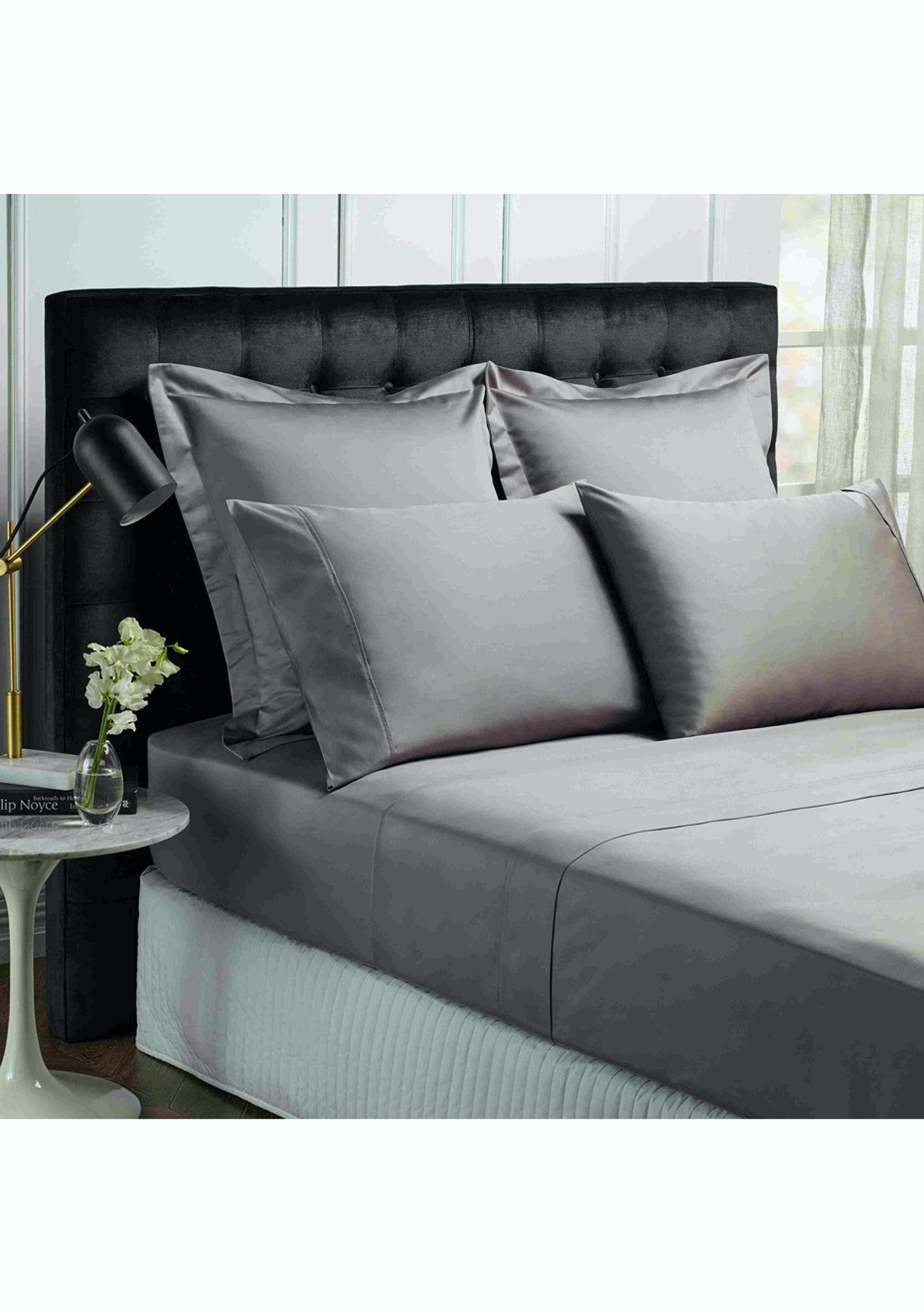 Park Avenue 1200 Thread Count Egyptian Cotton Sheet Sets Queen Pewter Free Shipping Bedding Best Ers Onceit