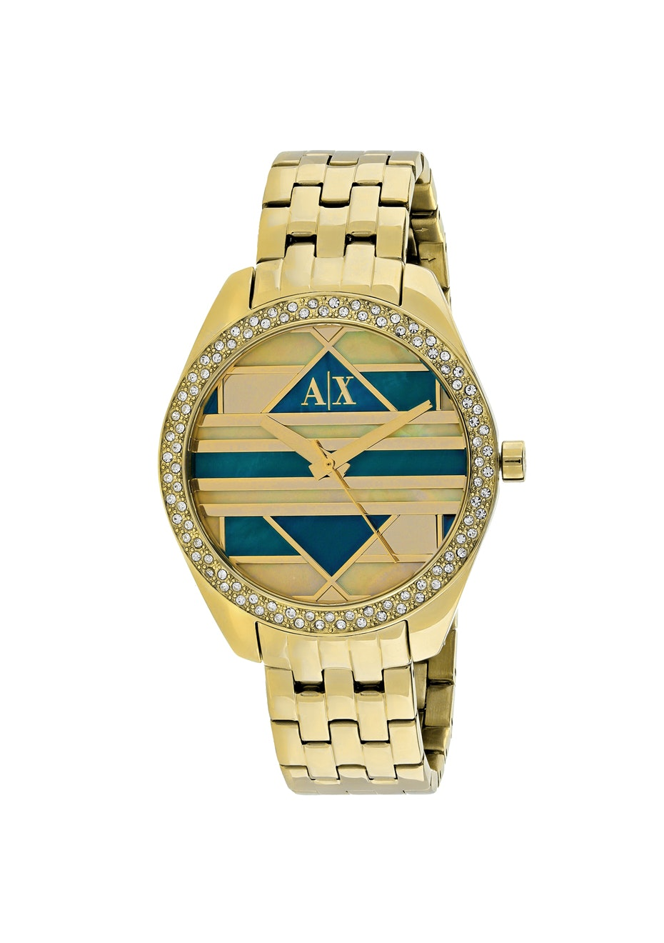 Armani Exchange Women's Serena - Multi-colored mosaic/Gold