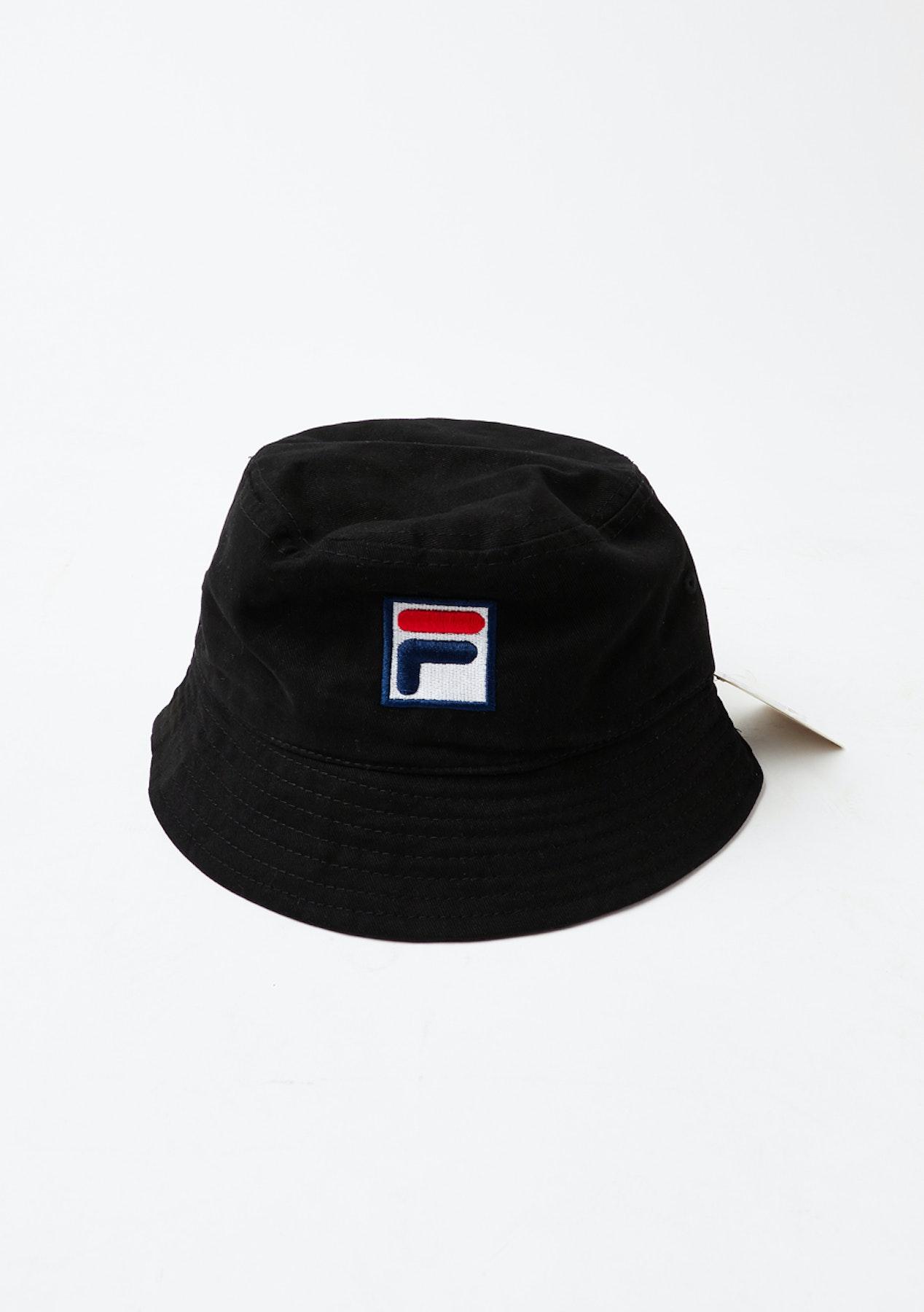 Fila Bucket Hat - Black - Express Shipping Champion + More - Onceit 89c930b49ae