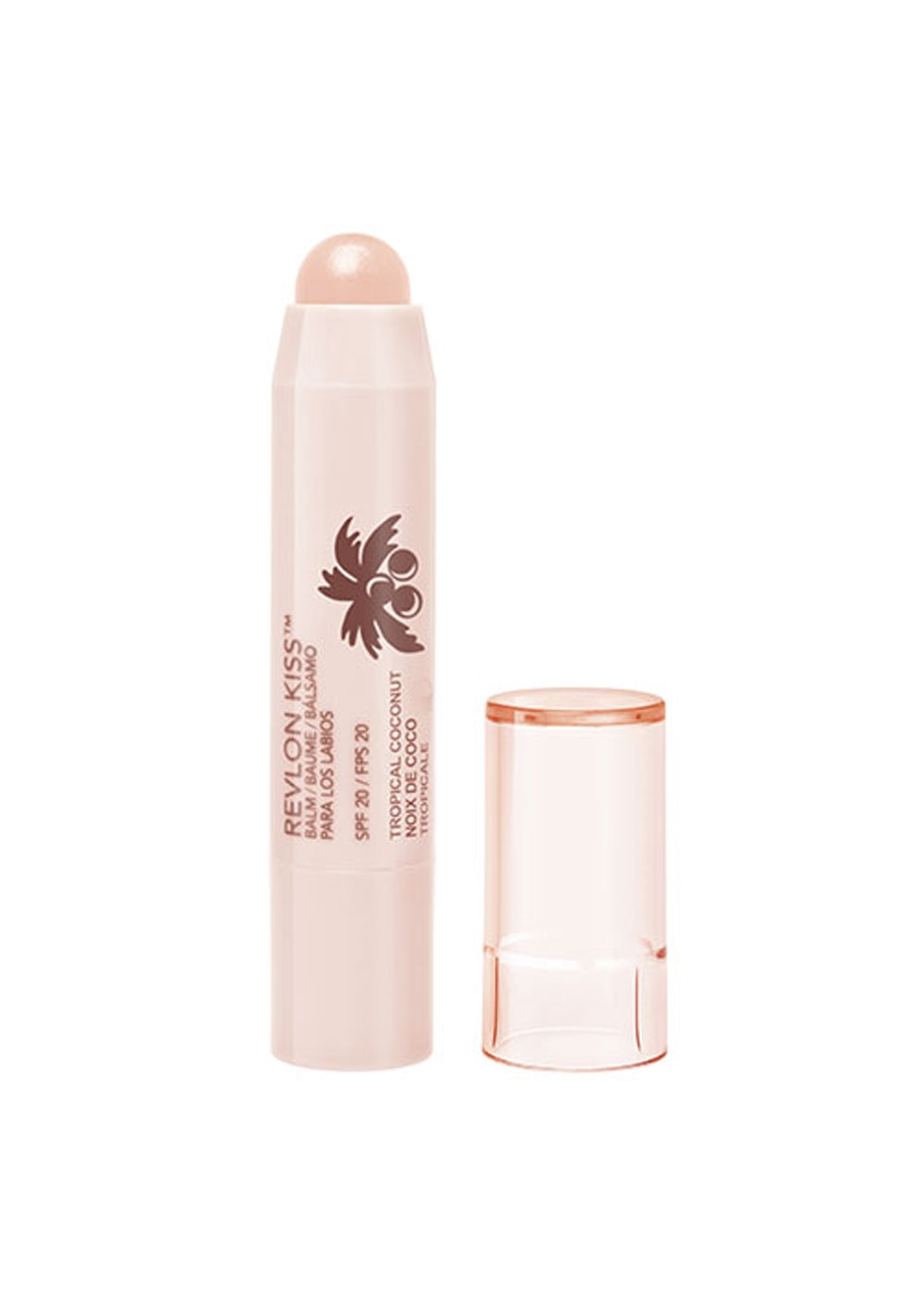 Revlon Kiss Balm spf20 010 TROPICAL COCONUT
