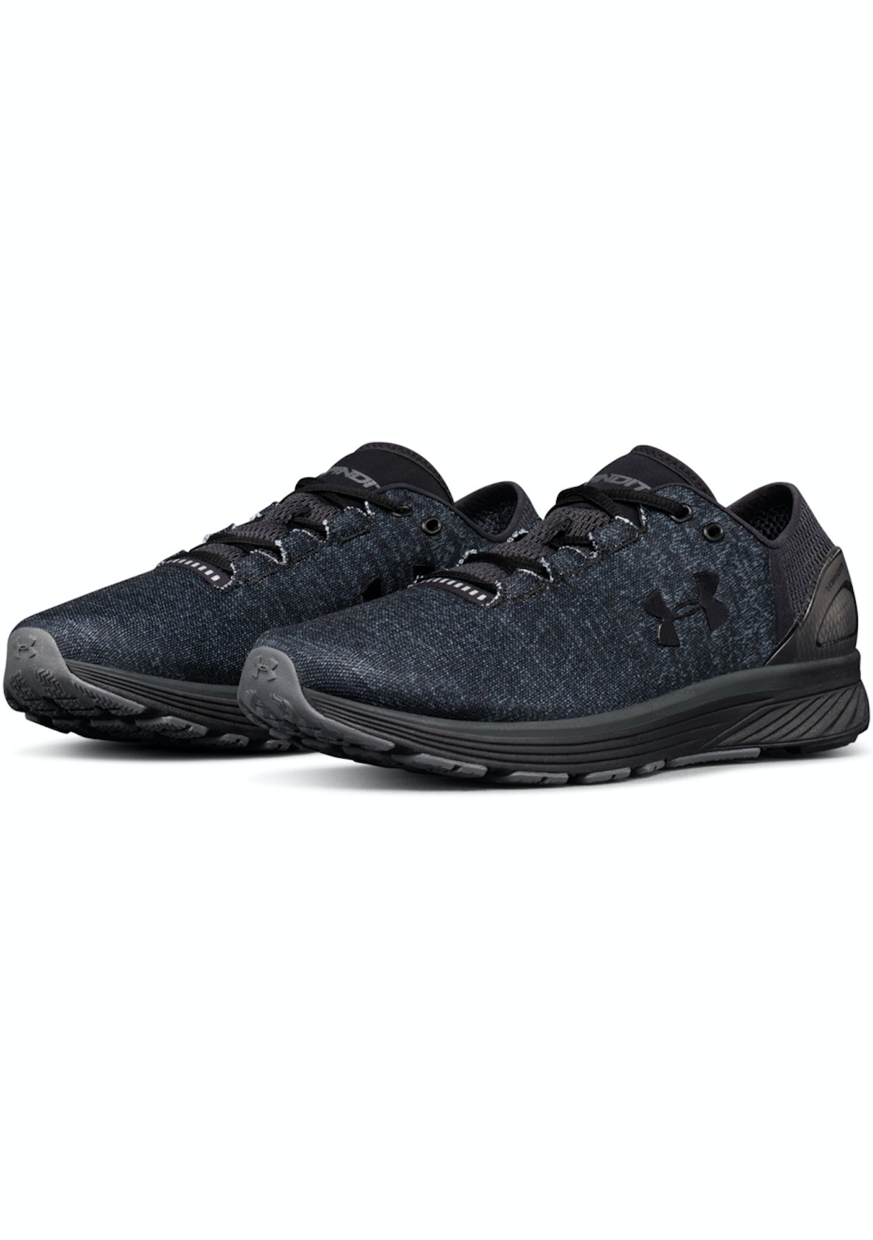 detailed look 30553 afa41 Under Armour - Mens Charged Bandit 3 - Black/Stealth Gray