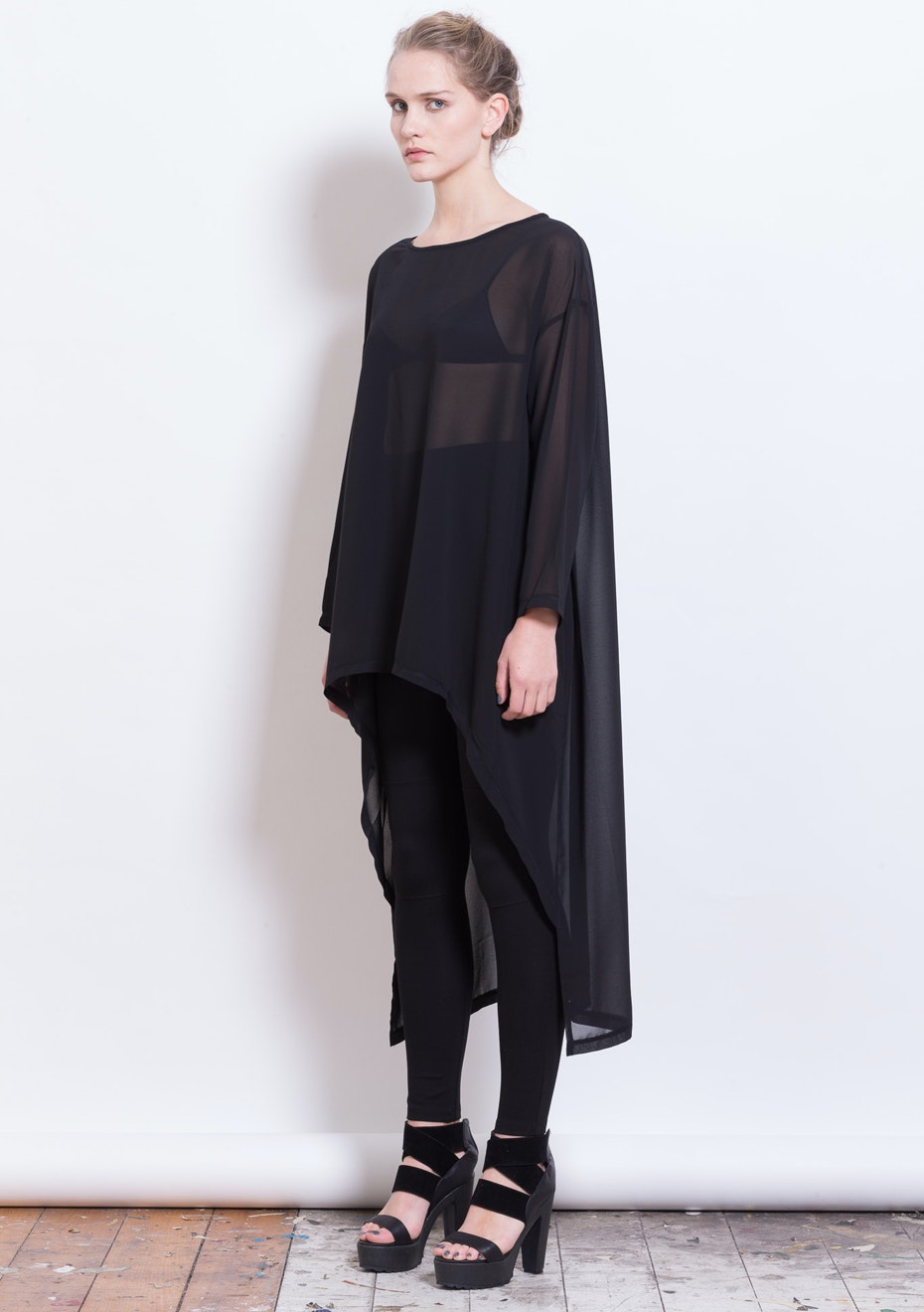 X-Plain - Kip top  - Black