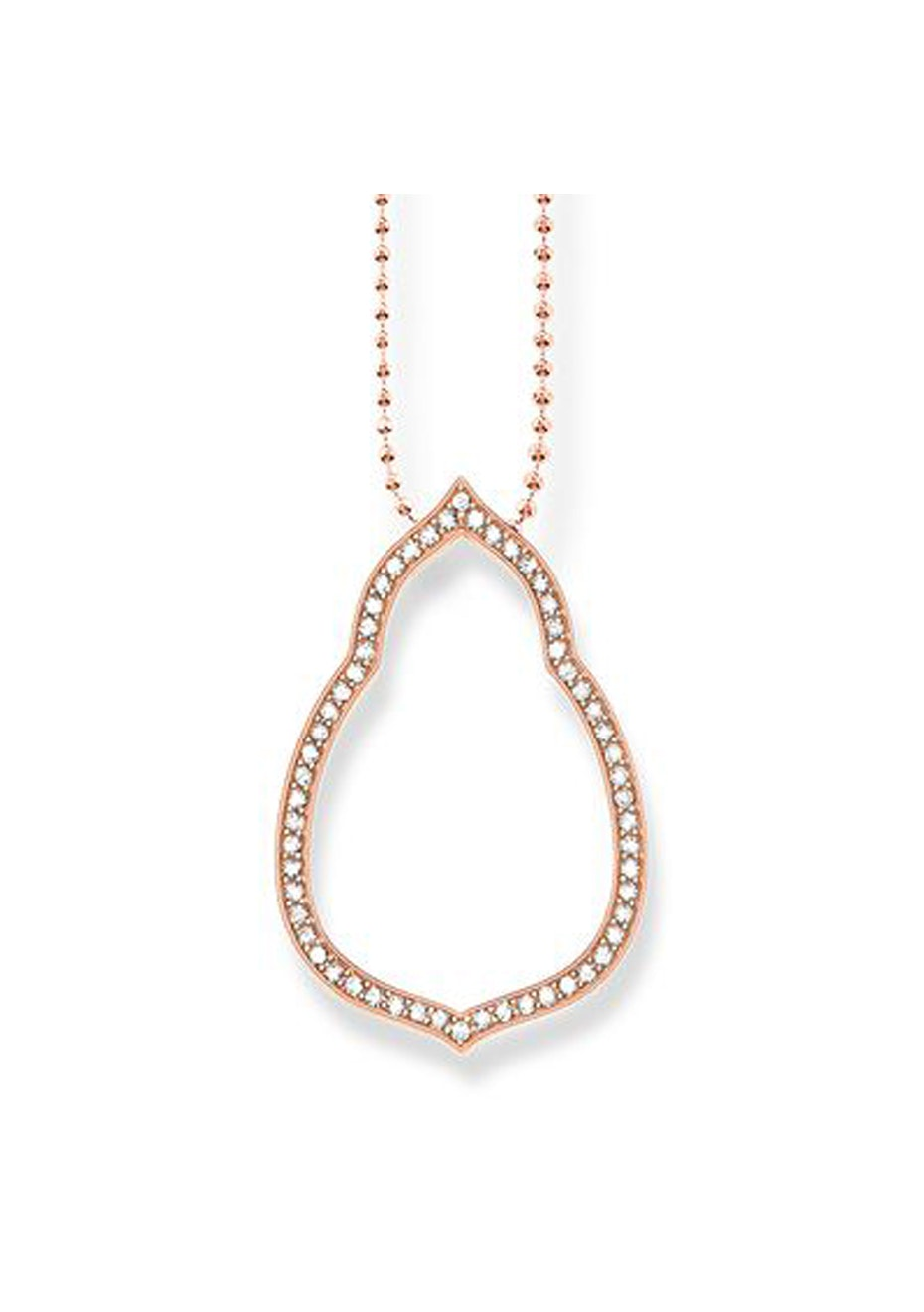 Thomas Sabo  - Open Drop Rose Gold Plated Pendant