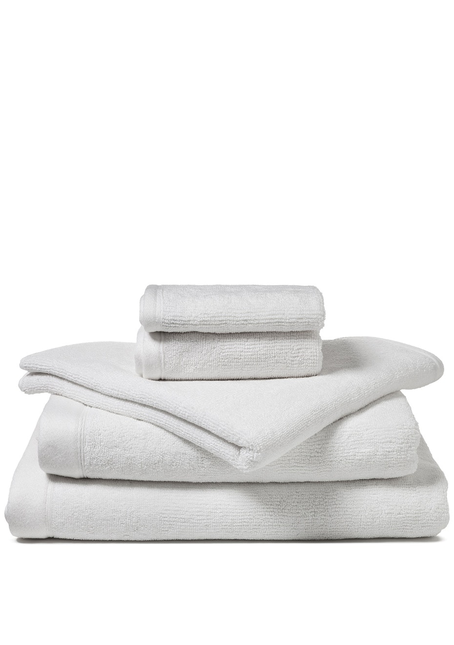 Canningvale - Corduroy Rib Bath Towel White