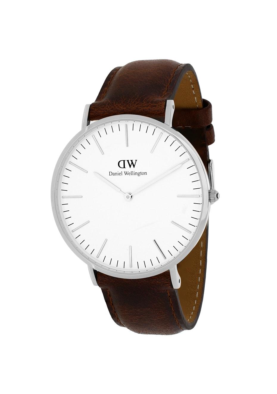 Daniel Wellington Men's Classic St Mawes - White/Brown