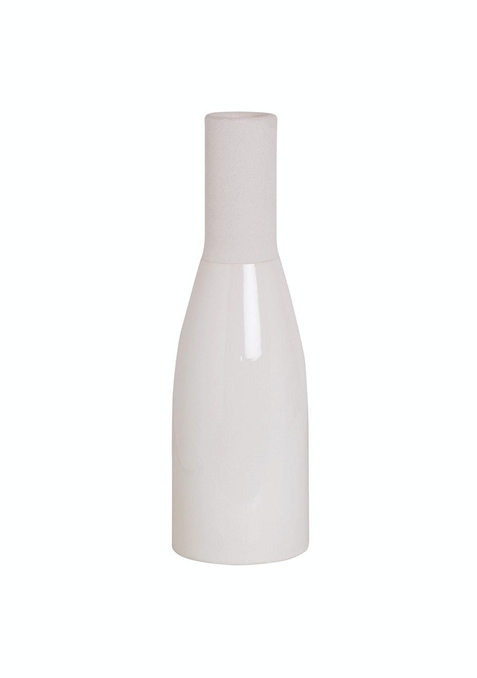 Jason - White Ceramic Vase